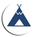 TENT ICON BLUE